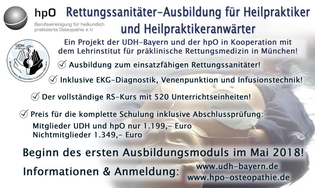 Aktuelles : Union Deutscher Heilpraktiker